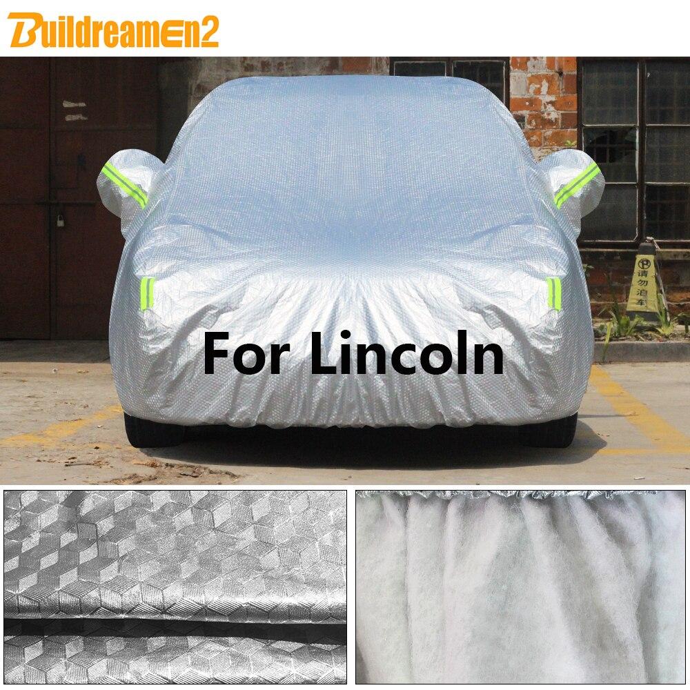 Car-Cover Dust-Protection Hail Sun-Snow Cotton Rain Buildremen2 for Lincoln LS MKC MKX