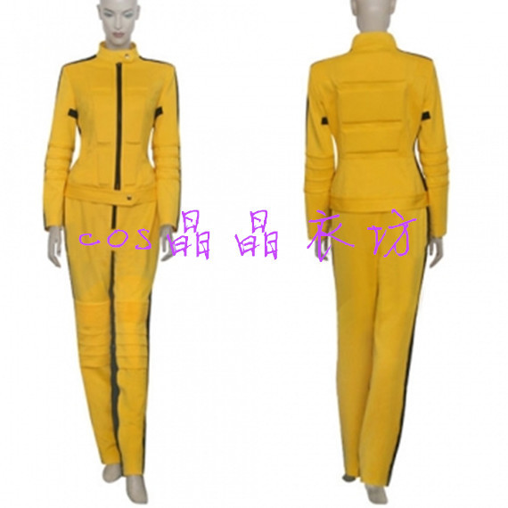 Kill Bill Vol 1 The Bride Wonder Woman cosplay costume customize any size