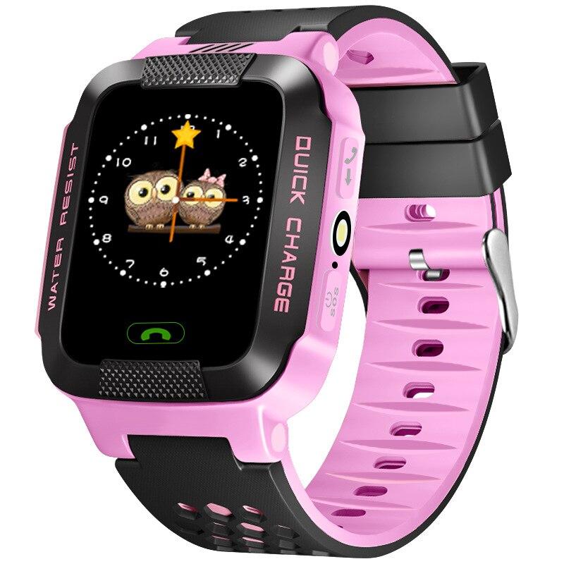 imágenes para T7 Relojes Inteligentes de alta calidad Niños Niños Reloj Teléfono Android Rastreador LBS SOS niños pantalla táctil Smartwatch mejor que Q50