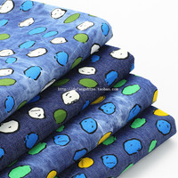 2018 Real Nonwoven Tissus Au Metre Free Shipping The New Cartoon People Printed Jeans Diy Summer Cool Baby Costume Cloth Fabric