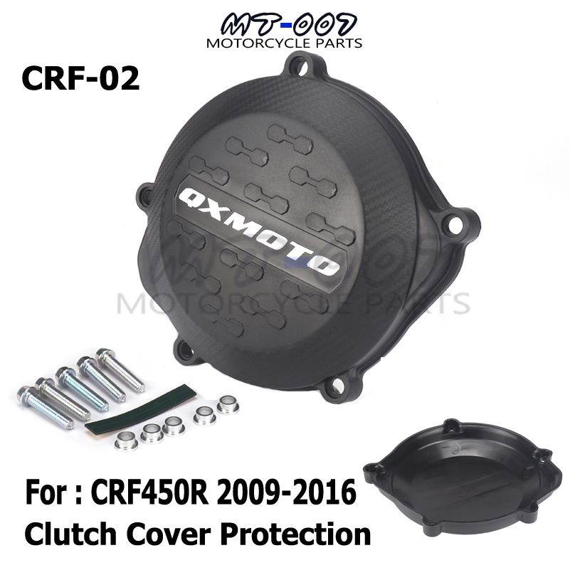 Motorcycle Clutch Cover Protection Cover Fit For CRF450R <font><b>CRF</b></font> 450R <font><b>450</b></font> 2009 2010 2012 2011 2013 2014 2015 2016 image