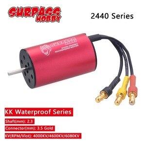 Image 1 - Waterdicht 2440 4000KV 4600KV 6080KV Borstelloze Motor Voor Redcat Traxxas Hsp 1:16 1:18 Rc Drift Racing Klimmen Off Road