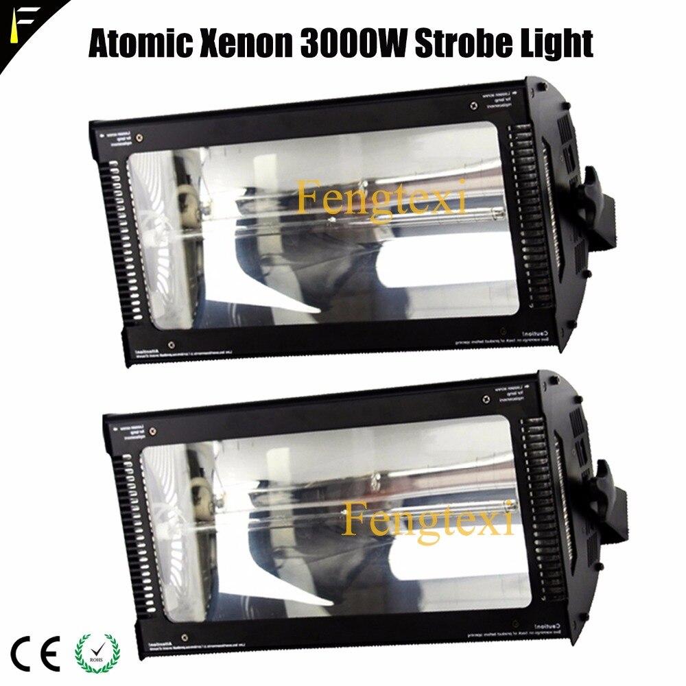 Effet de clignotant continu de lampe de xénon de la lumière XOP 3000 w de stroboscope atomique 3000 de DMX d'impact élevé avec la décoloration automatique