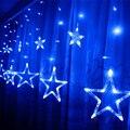 Luz de las estrellas Decoración Luces de Hadas 2 M 6FT 138led Al Aire Libre Alambre de Cobre Led Luces de la Secuencia luz de Navidad Del Partido Del Festival de la lámpara