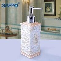 GAPPO liquid soap dispensers soaps pumps imported Bathroom resin Bottle Bath resin accessories soaps pump dispensers
