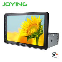 Joying Android Car Radio Audio Stereo Single 1 Din Universal Quad Core 10.1″ Big Screen GPS Navigation System Head Unit+Camera