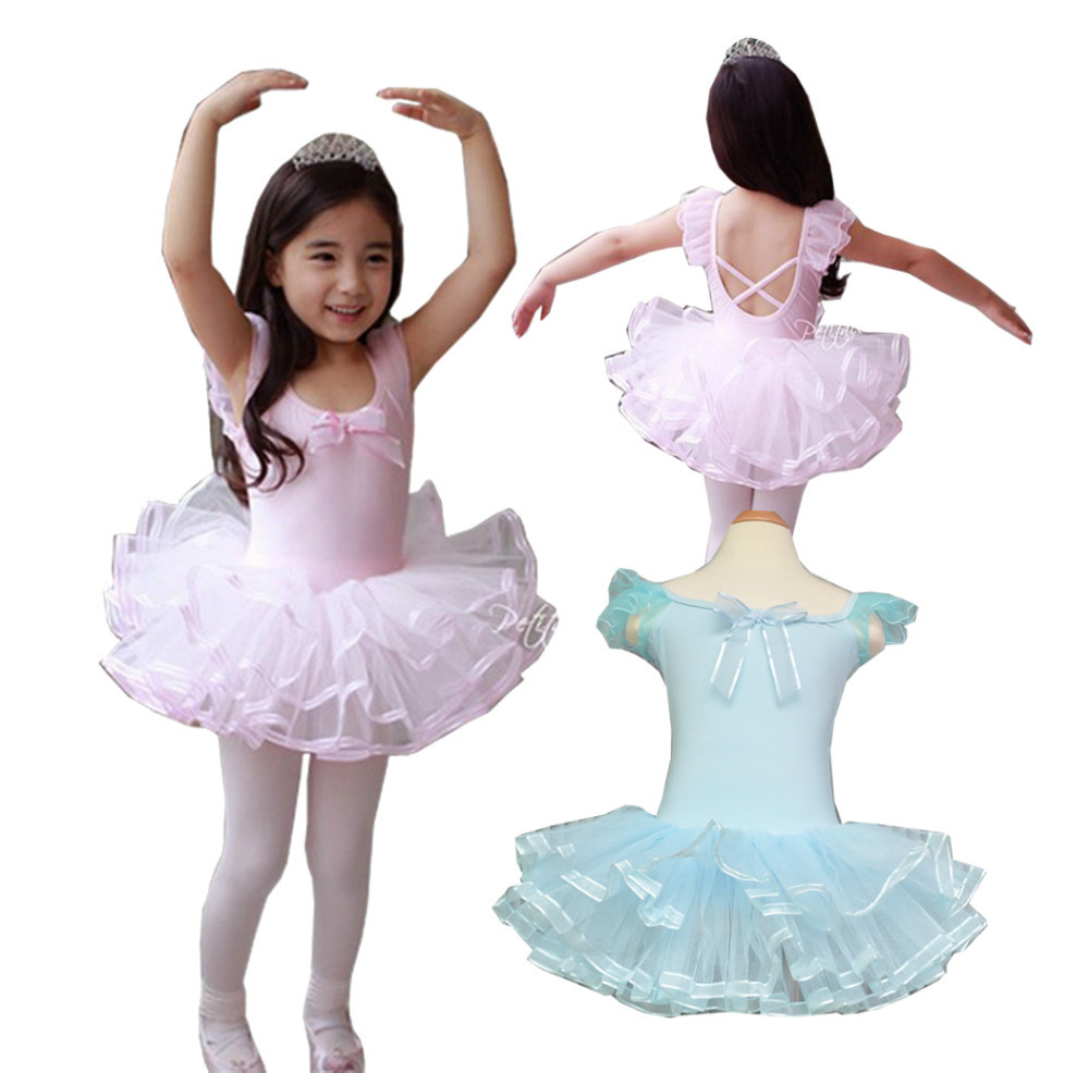 3268d6844 Retail Girls Toddlers Kids Short Sleeve Clothes Ballet Tutu Dance ...