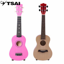 TSAI 23 Inch Universal Wooden Ukulele Portable Size Hawaii Style Rosewood Ukelele Music Instrument For Beginners Players