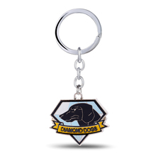 Keychain Keyring War-Logo Pendant Collectibles Gift Metal Store-Gear Dogs The 3D Phantom-Pain