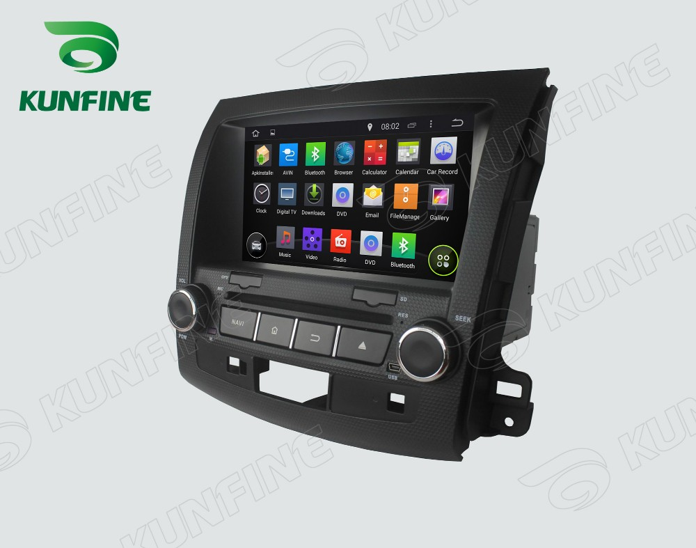 Car dvd GPS Navigation player for outlander 2006-2012 C