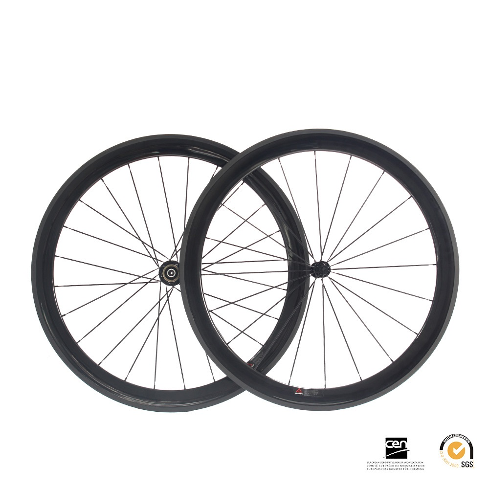 Full 700 Carbon Carbon Fiber Road Wheel 50mm Clincher Wheelset Bicycle clincher full road bike wheels carbon road wheels 2017 new carbon wheel set for road bike frame road carbon wheels free shipping 700c 50mm carbon clincher wheelset