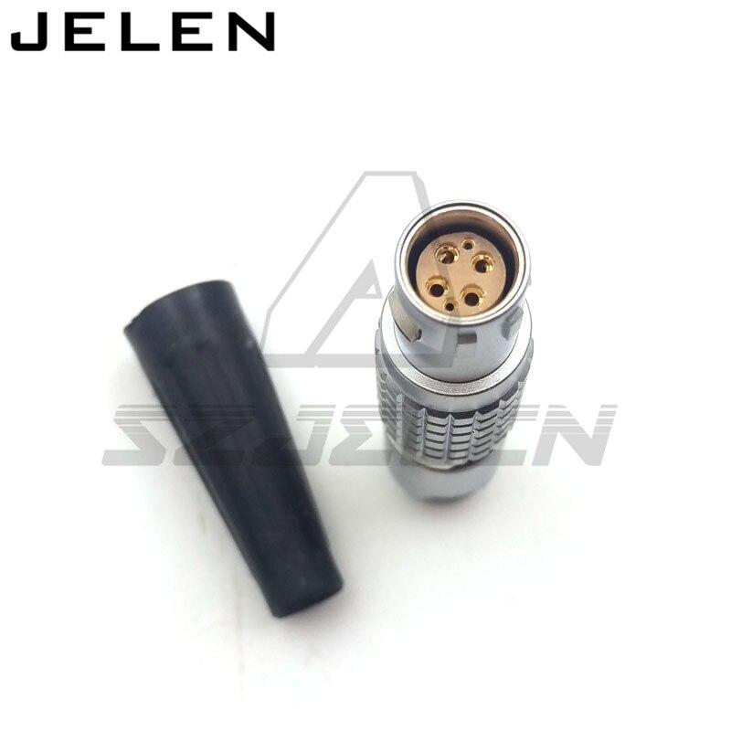 Stecker FGJ.1B. 306. CWAD Red kamera 6 pin stecker