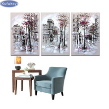"DIY 5d Diamond Painting""London city street""Diamond Embroidery,Cross Stitch,needlework,mosaic Rhinestone painting,wall decoration(China)"