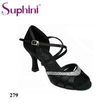 2017 Hot Sale Suphini Dance Shoes Graceful Dance Shoe Pretty Lady Salsa Shoes Woman Dance Shoes