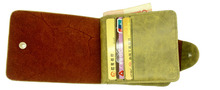 One Piece Leather Wallet