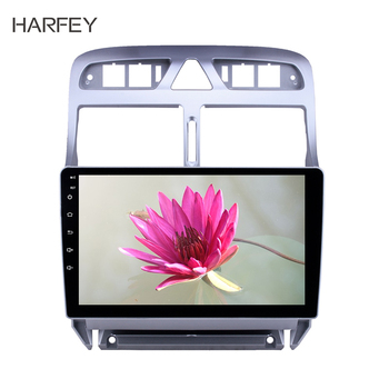 Harfey 2din 9 inch car multimedia player Android 8.1 for Peugeot 307 2007 2008 2009 2010 2012 2013 Head unit Radio GPS Navi image