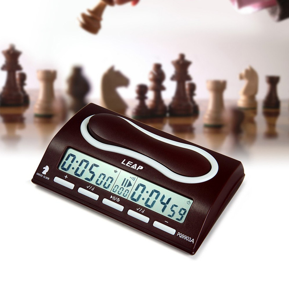 Leap Pq9903a Multifuctional Digital Chess Clock Wei Chi Count Up Down Chess Alarm Timer Reloj Ajedrez Temporizador Game Timer Measurement & Analysis Instruments Tools