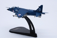 1 100 British Harrier Aircraft Model Of Static Fighter Alloy Decoration Model Toy