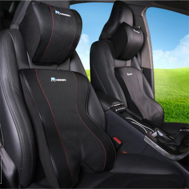 For volvo car neck pillow Car lumbar cushion Environmental