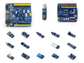 STM32 Nucleo Board XNUCLEO-F302R8 ARM Cortex-M4 Development Kit Compatible NUCLEO-F302R8+ST-LINK/V2 (mini) +IO Expansion+Sensors