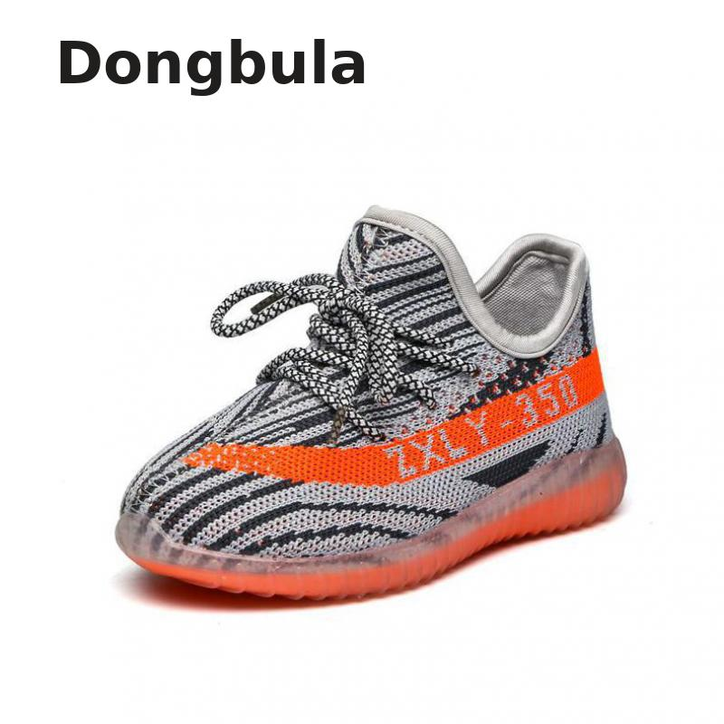 105b45b89e6ef Spring Kids Casual Running Shoes Boys Outdoor Sports For Girls Sneakers  Mesh Breathable Fashion Damping Children