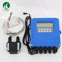 Цифровые TDS 100F5 M2 ультразвуковые расходомеры измеряют скорость жидкости в закрытом кабеле