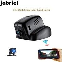 Jabriel 1080 P Автомобильный dvr Wi Fi Скрытая регистраторы видео регистраторы двойной объектив заднего вида камера для LandRover DISCOVERY 4 2013 freelander 2