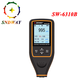 Sndway Coating Thickness Gauge Car paint detector Refinishing Paint micrometer Automotive Coating test high-precise probe Meter