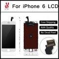 20 pçs/lote aaa qualidade 4.7 polegada para iphone 6 display lcd completo com tela de toque de vidro digitador assembléia grátis dhl
