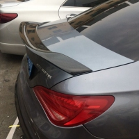 For Mercedes CLA Spoiler CLA45 W117 C117 Carbon Fiber Rear Trunk Wings Spoiler cla 200 250 260 Renntech 2013 2014 2015 2016 UP
