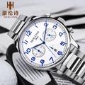 Holuns mens relógios top marca de luxo homens de negócios casuais relógio de quartzo dos homens relógio de pulso relogio masculino erkek kol saati 2016