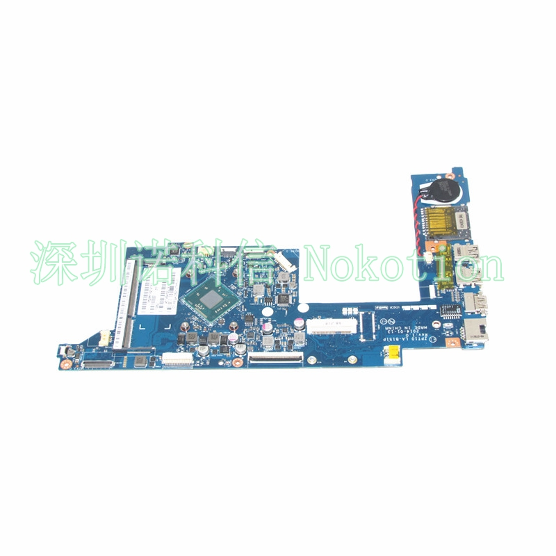 NOKOTION Laptop Motherboard for Hp x360 11-n047 ZPT10 LA-B151P 789089-501 789089-001 Mainboard nokotion original 815249 501 815249 001 abq52 la c811p laptop motherboard for hp 15 ac n3150 cpu mainboard works