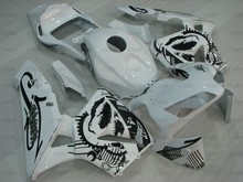 CBR600 RR 2005-2006 Fairings CBR 600 RR 06 Abs Fairing CBR 600 RR 06 สีขาวสีดำ Abs Fairing(China)