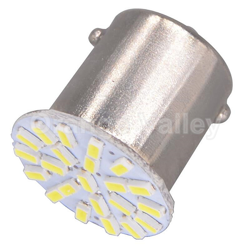 10pcs Best Price 1156 BA15S P21W S25 1129 3496 22 LED 3014 SMD Car Brake lights Turn Signal Lamp Backup Light DC 12V