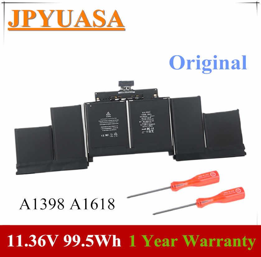 """7 Xinbox 11.36V 99.5Wh Originele A1398 A1618 Laptop Batterij Voor Macbook Pro Retina 15 ''15.4"""" 2015 020-00079 MJLQ2LL/Een MJLT2LL/Een"""