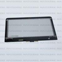 Новый для HP Pavilion 13 s000 X360 ЖК дисплей LED Дисплей + Сенсорный экран планшета Ассамблеи lp133wh2. spb2