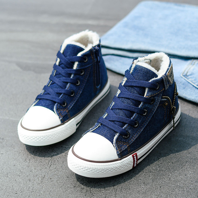 Fall Jean Stylish High Tops