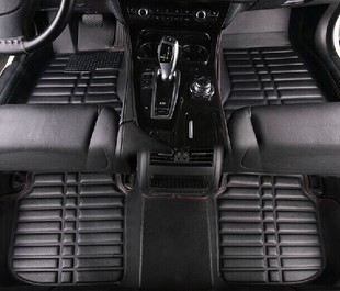 Car Floor Mats Covers top grade anti scratch 5D fire resistant durable waterproof senior leather for HONDA,VEZEL ect ,Styling car floor mats covers free shipping 5d for toyota honda for nissan hyundai buick for ford audi benz for bmw car etc styling