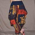 2016 new folk style cotton Womens Ladies casual pants crotch pants pants women's big Haren