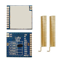 Sx1278-Chip Transceiver-Module 433mhz High-Sensitivity 2pcs/Lot 100mw RF Lora1278-4km