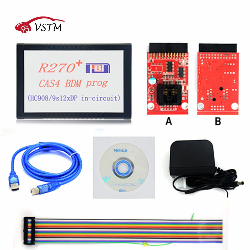 Reasonable 2018 R270 Bmd R270+ V1.20 Auto Cas4 Bdm Programmer Cas4 Bdm Programmer Professional For Bmw Key Prog Car Diagnostic Terrific Value