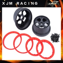 LT Two generation wheel hub rim Kit  for 1/5 rc car hpi rovan baja losi 5ive-T parts