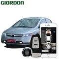 CIVIC 2008, автомобильные аксессуары, бесключевая система комфорта, PKE, приложение для телефона, дистанционный запуск, автомобильный двигатель, ...