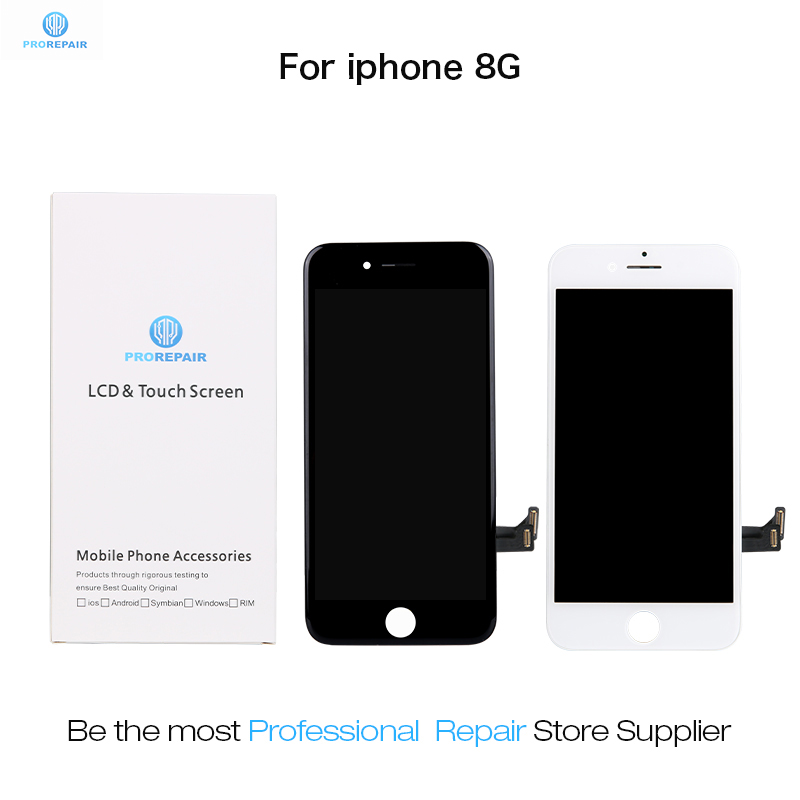 Prorepair 5pcs/lot Ori-Take Ori-New Screen For iPhone 8 LCD Display Touch Screen Digitizer Assembly Replacement