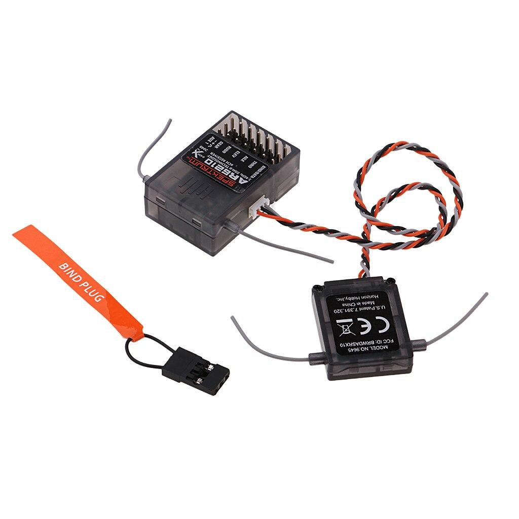 Spektrum AR6210 DSMX 6 Channel 2.4ghz Telemetry Receiver SPMAR6600T DX7 DX8
