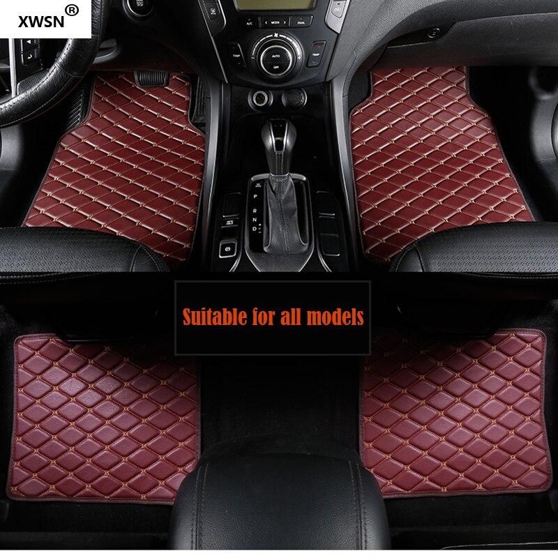 Universal car floor mat for MG ZS MG5 MG6 MG7 MG3 mgtf geely emgrand ec7 car