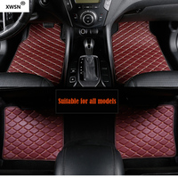 Universal car floor mat for MG ZS MG5 MG6 MG7 MG3 mgtf geely emgrand ec7 car accessories car mats