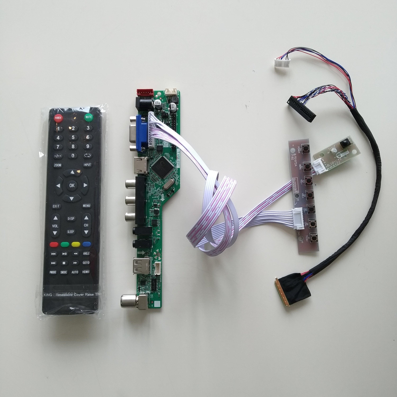 Kit for LTN156AT03  TV+HDMI+VGA+USB LCD LED screen Controller Driver Board