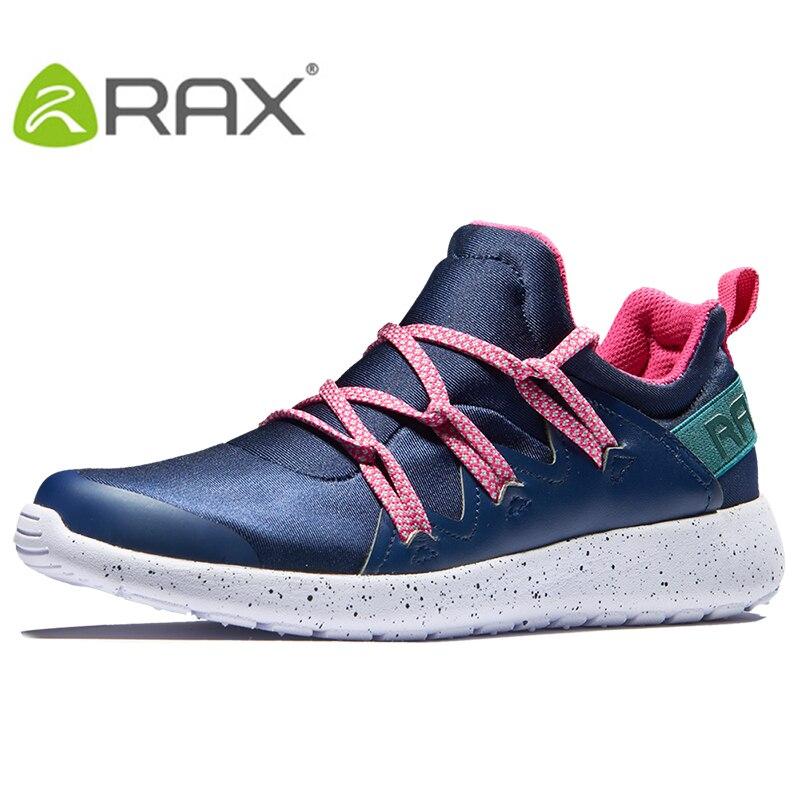 RAX 2019 新しい女性のスポーツライフウォーキングシューズレジャー通気性スニーカー光スポーツシューズ女性アウトドアジョギングシューズ  グループ上の スポーツ & エンターテイメント からの ウォーキングシューズ の中 1