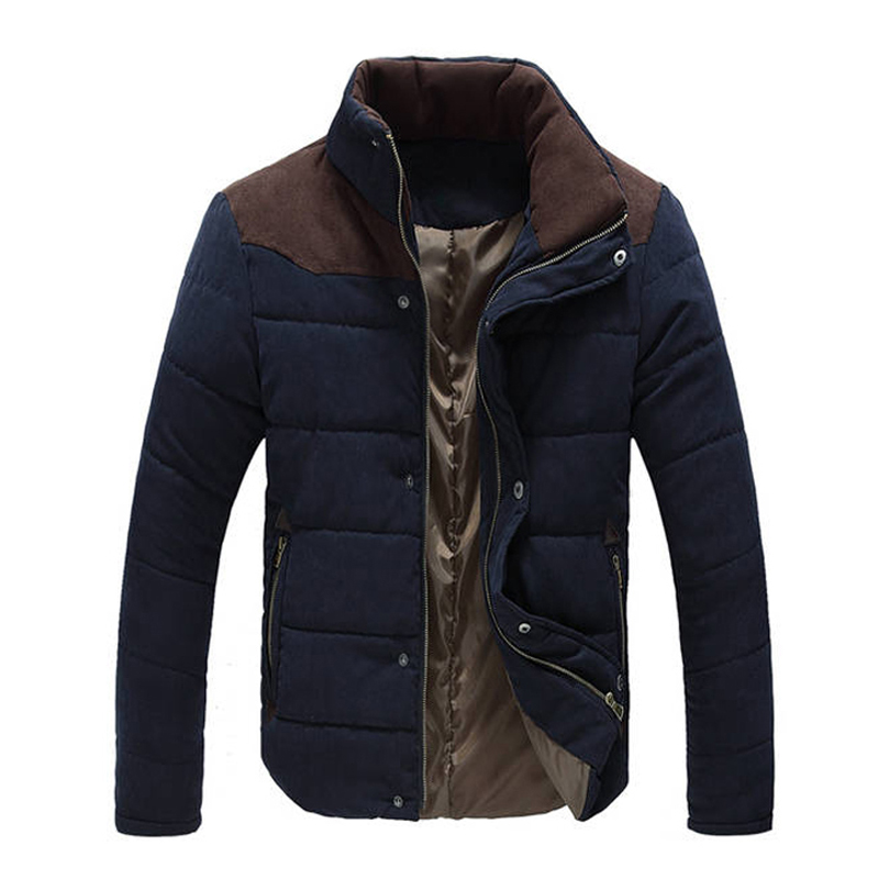 New Jacket Men Hot Sale Thick High Quality Autumn Winter Warm Outwear Brand Coat Casual Solid Male Windbreak Jackets M-3xl